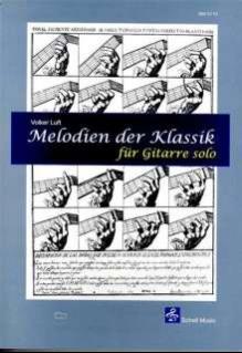 Melodien der Klassik für Gitarre
