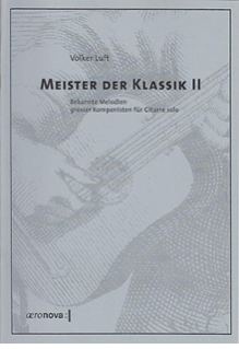 Meister der Klassik II für Gitarre