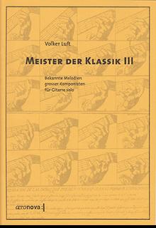 Meister der Klassik III für Gitarre