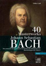 Bach 40 Masterworks Noten